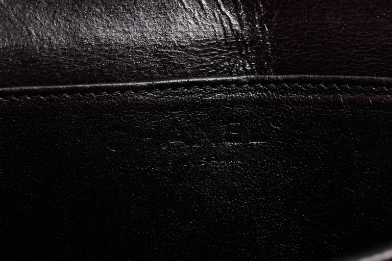 Chanel Black Caviar Leather Square Quilt Waist Flap Bag  For Sale 3