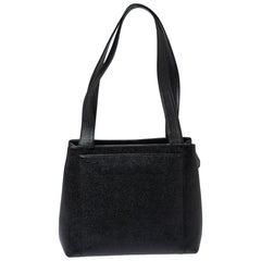 Chanel Black Caviar Leather Vintage Bag