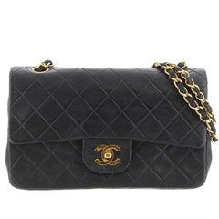 Chanel Black Classic Small Double Flap Bag