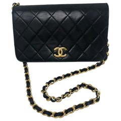 Chanel Black Clutch/ Evening Bag