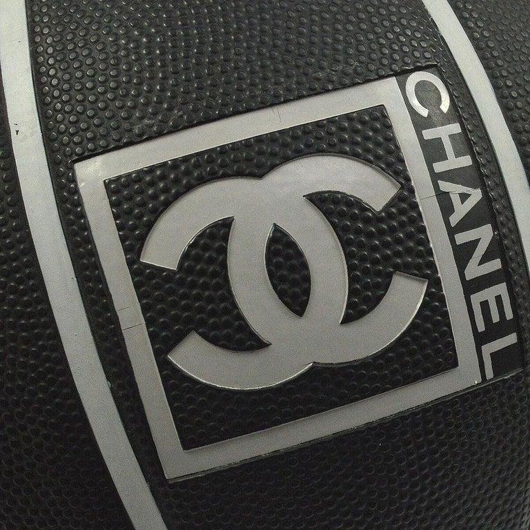 Chanel Black Gray Novelty Toy Game Sport Men's Women's Basketball  Diameter 14.5