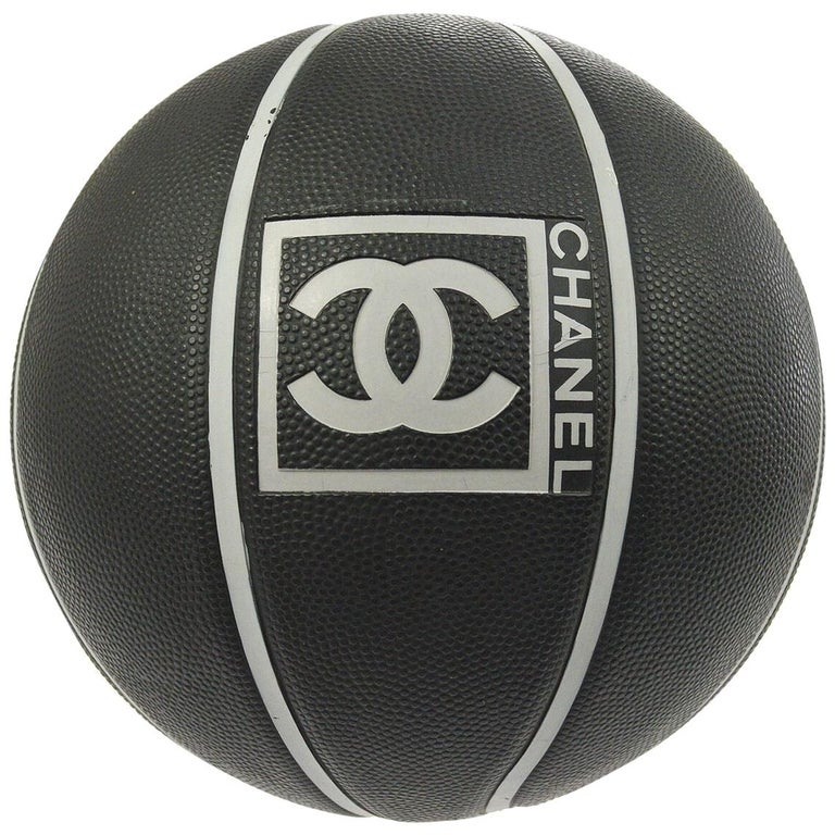 Chanel Black Gray Collectible Novelty Toy Game Sport Men's Women's Basketball For Sale