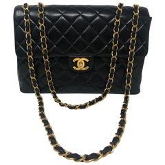 Chanel Black Jumbo Single Flap Bag