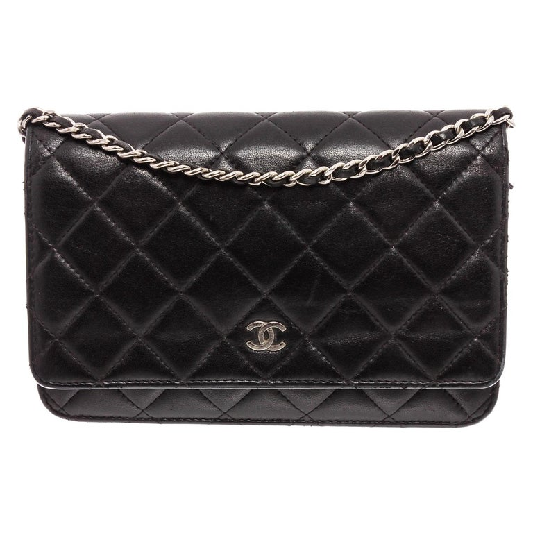 Timeless Quilted Hand Bag Lambskin Leather Crossbody Chain Bag Vintage Wallet