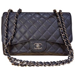 Chanel Black Large Classic Bag