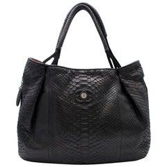 Chanel Black Large Classic Shopper Tote