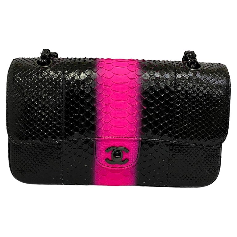 Chanel Black Leather 2.55 Limited Edition Bag  For Sale