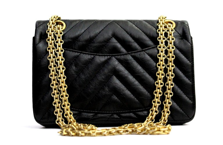80aa7ad7950810 Women's Chanel Black Leather Classic 2.55 Small Size Bag For Sale