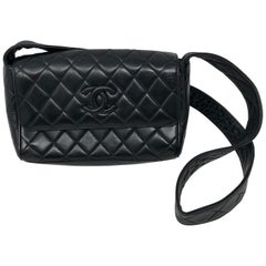 Chanel Black Leather Crossbody Bag