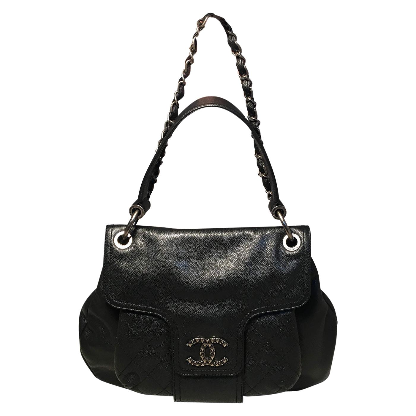 Chanel Coco Rider Flap Bag Production Sample