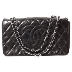 Chanel Black Leather Flap Bag