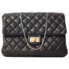 Chanel Black Leather Mademoiselle Flap Bag