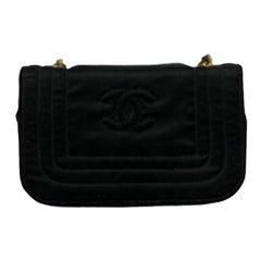 Chanel Black Leather Mini Vintage Bag