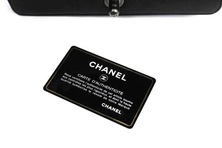 Chanel Black Leather Small Boy Bag 2