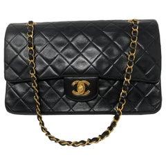 Chanel Black Medium Double Flap Bag