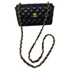 Chanel Black Mini Rectangular Bag
