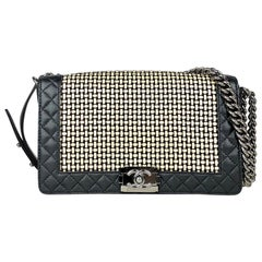 Chanel Black New Medium Boy Shoulder Bag