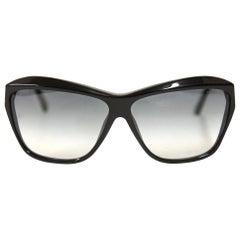 Chanel Black Pvc Sunglasses, 2000s