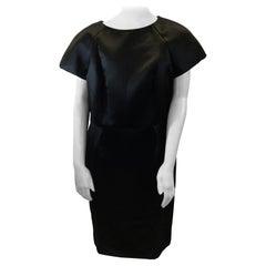 Chanel Black Satin Dress NWT