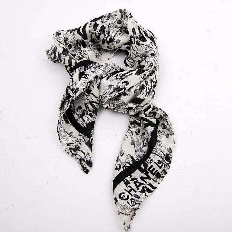 CHANEL Black Silk Clutch Coco Chanel Bag  For Sale 6