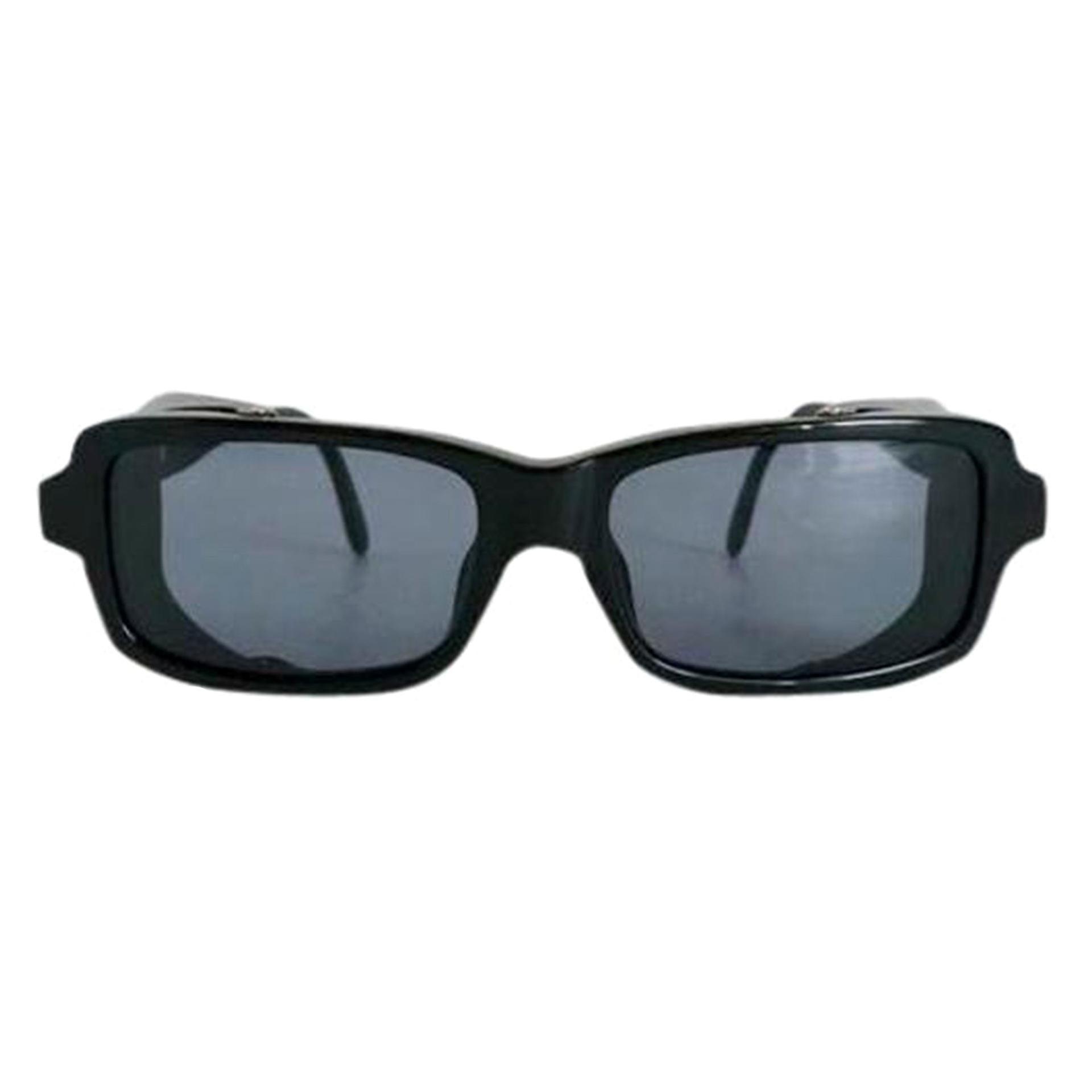 Chanel Black Vintage Sunglasses