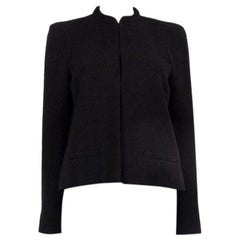 CHANEL black wool blend PARIS SALZBURG Jacket 38 S