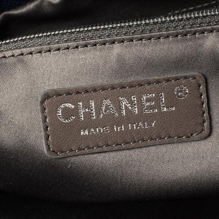 Chanel Blue Satin 2.55 Reissue Ribbon Shoulder Bag For Sale 4