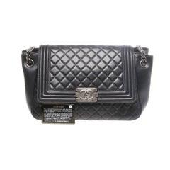 Chanel Boy Accordian Flap Bag