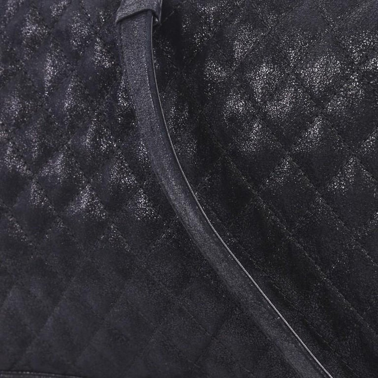 ee95c3e6f4ac Chanel Boy Flap Bag Quilted Gentle Goatskin XL For Sale 1