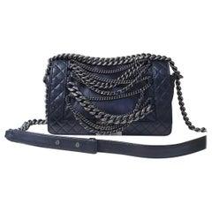 Chanel Boy Medium Calfskin Chain Flap Bag