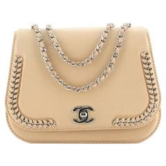 Chanel Braided Chic Flap Bag Calfskin Small