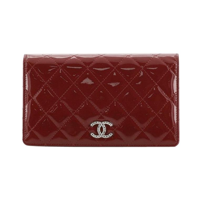 Chanel Brilliant L-Yen Wallet Quilted Patent For Sale