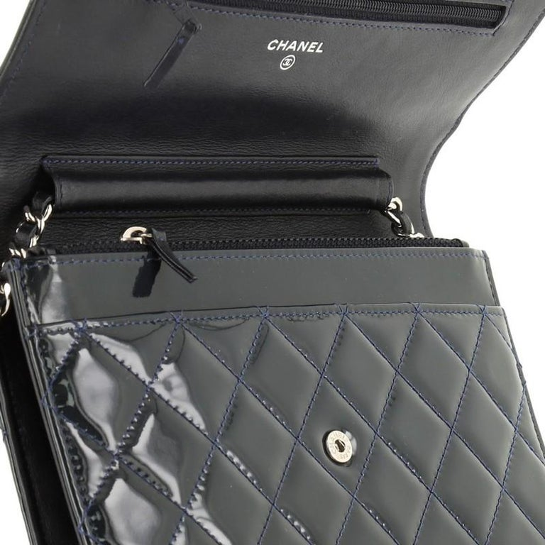 Chanel Brilliant Wallet on Chain Quilted Patent For Sale 3