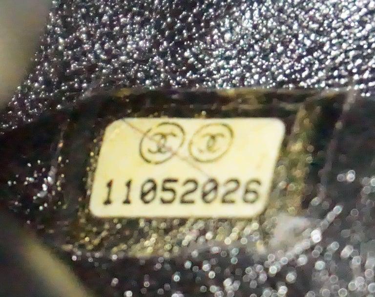 Chanel Bronze Metallic Lambskin Reissue 226 Double Flap SHW Bag, Circa 2006 For Sale 3