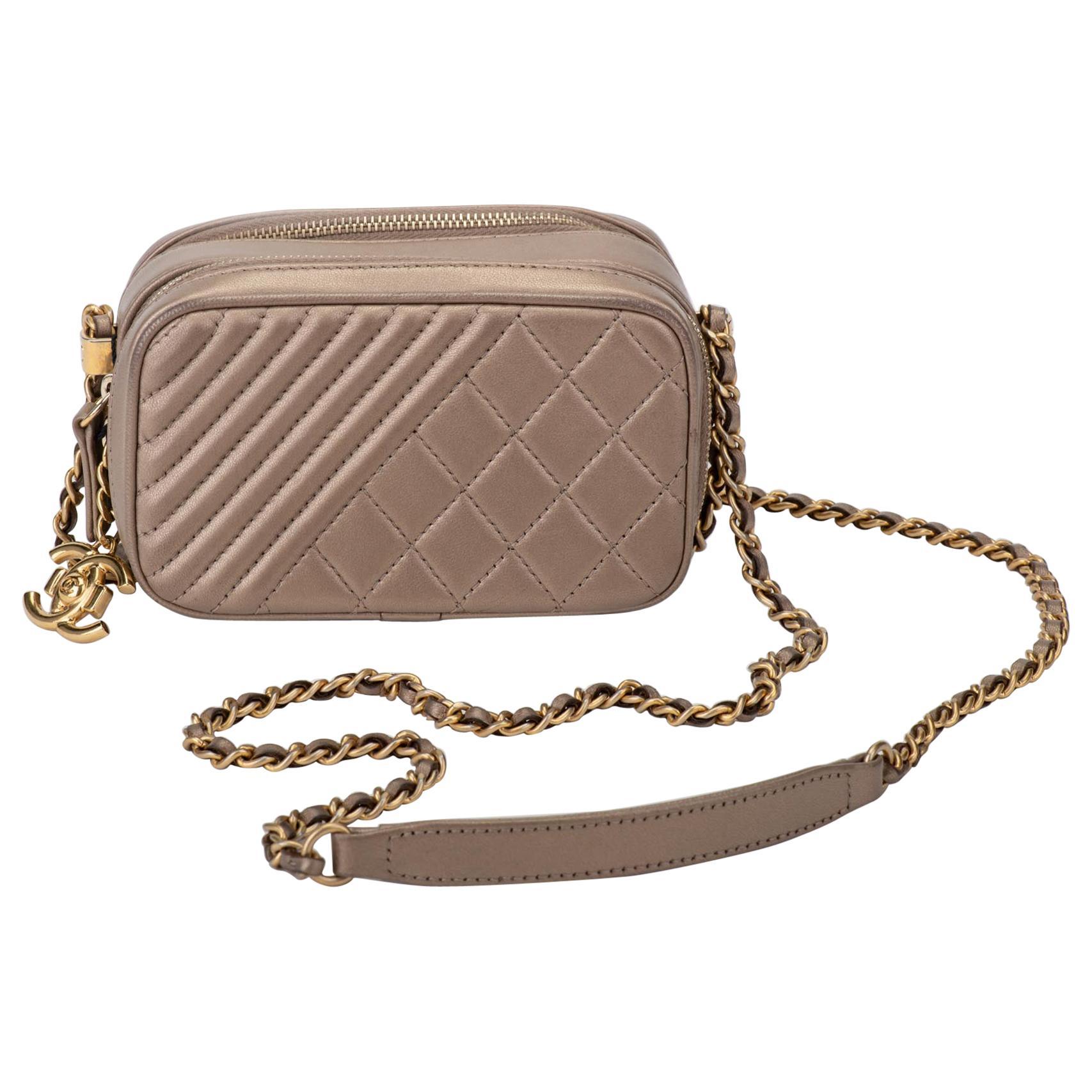 Chanel Bronze Soleil Crossbody Bag