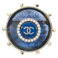 "Chanel Brooch Nautical ""La Pausa"" 2019 Cruise Collection CC Blue"