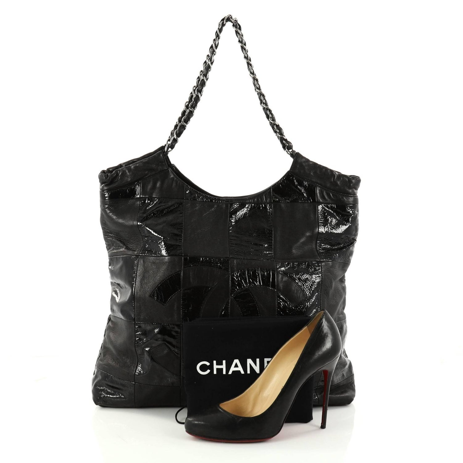 7278d031c096 Chanel Brooklyn Leather Patchwork Medium Tote at 1stdibs