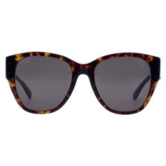 Chanel Brown Acetate 5412 Polarized Sunglasses 54/19 140 mm