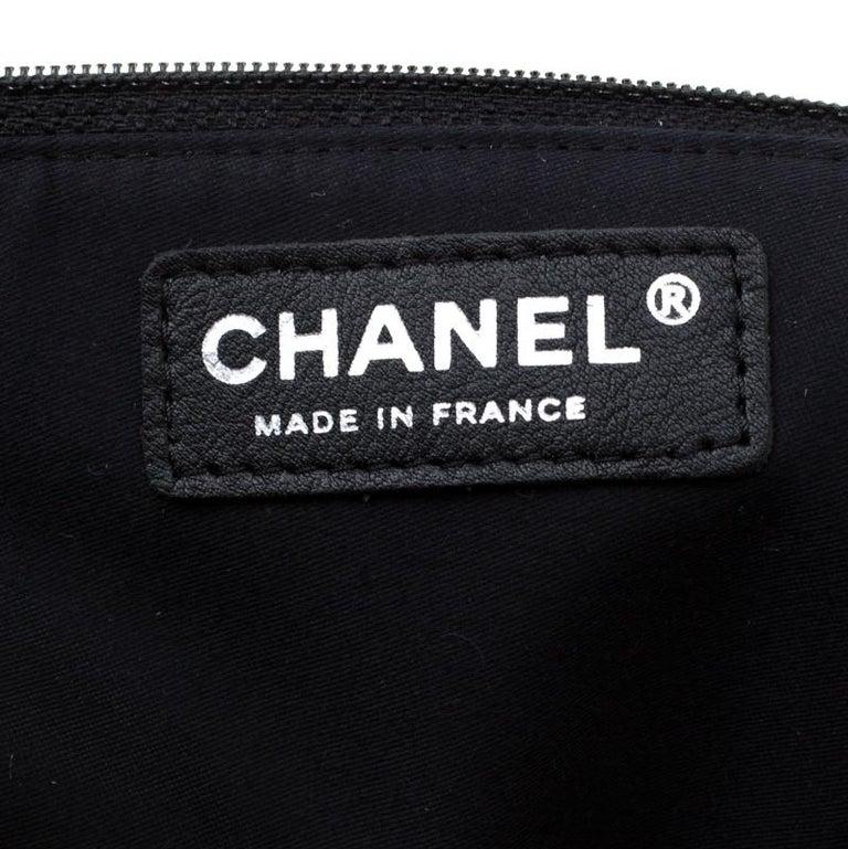 Chanel Brown/Black Leather Medium Girl Shoulder Bag For Sale 5