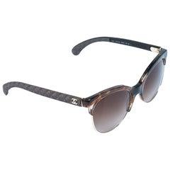 Chanel Brown/Brown Gradient 5342 Cat Eye Sunglasses