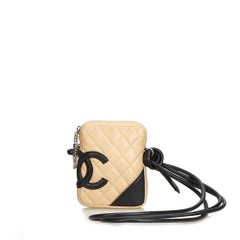 Chanel Brown Cambon Ligne Crossbody Bag