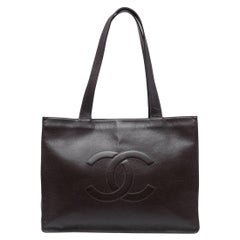 Chanel Brown Leather Tote