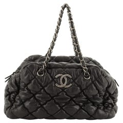 Chanel Bubble Bowler Bag Quilted Lambskin Medium