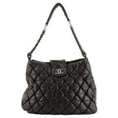 Chanel Bubble Hobo Quilted Lambskin Large