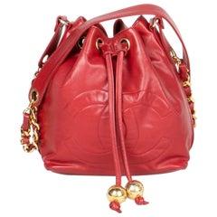 Chanel Bucket Crossbody Bag