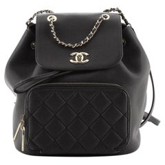 Chanel Business Affinity Backpack Caviar Small