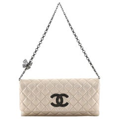 Chanel Butterfly Chain Clutch Quilted Lambskin