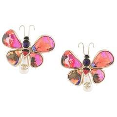 Chanel Butterfly Earrings