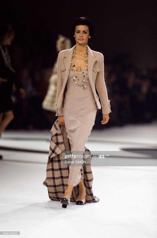 Women's Chanel by Karl Lagerfeld gold lurex t-shirt dress, fw 1996 For Sale