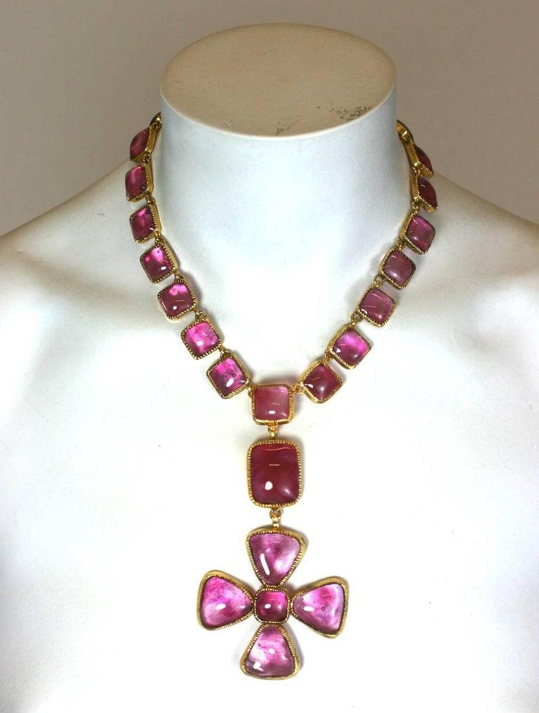 Chanel byzantine maltese cross ruby necklace for sale at 1stdibs chanel byzantine maltese cross ruby necklace for sale 2 aloadofball Gallery